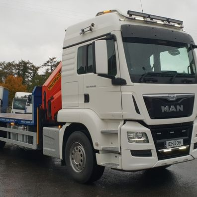414184a8eb Many thanks to Seamus at SMG Formwork LTD on the purchase of this MAN TGX  26 440. Safe driving from all the team at WH Mc Cormack   Sons