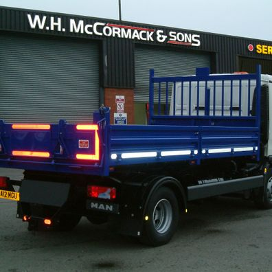 Vehicles at W.H. McCormack & Sons